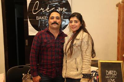 Jessica Rodríguez y Ricardo Loera.
