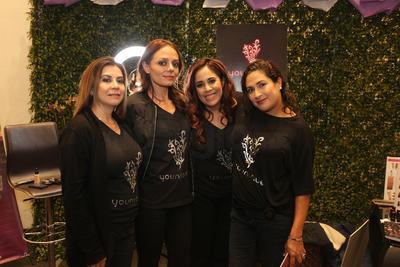 Gaby Sánchez,  Yamile Siqueiros, Lulú Bermúdez y Susy Haro.
