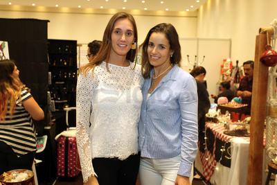 Anilú Karam y Titi Sánchez, organizadoras del evento.