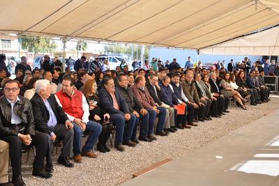 Se llevó a cabo la ceremonia de entrega ante las autoridades correspondientes.