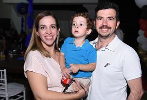Adriana, Hugo y Darío