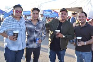 Paco, Luis, Juan Pablo y Ángel