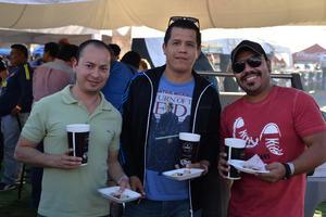 Pedro, Paco y Luis