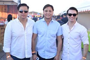 Rubén, Pepe y Andrés