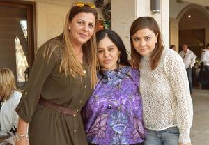Begoña, Mercedes y Mayra