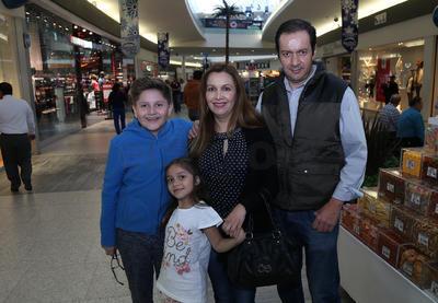 Familia Díaz Mendoza.