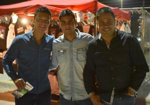 26112017 Héctor, Raúl y Carlos.