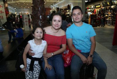Familia García Alarcón.