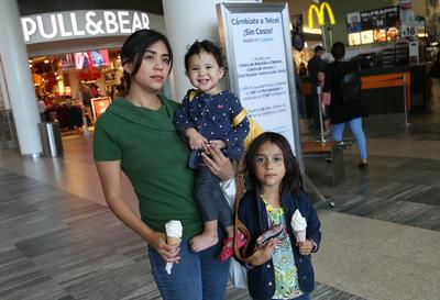 Carmen, Ana y Sara.