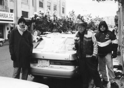 26112017 Pedro Alvarado R., Carlos Eduardo Montes Luna y Rodolfo Álvarez Herrera el 12 de diciembre de 1997.