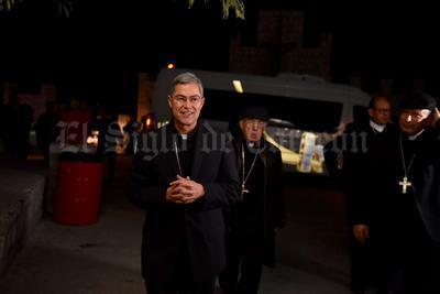 El Monseñor Luis Martín Barraza se dijo nervioso a unas horas de recibir su Ordenación Episcopal de manos del nuncio apostólico así como del Arzobispo de Chihuahua.