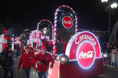Entre ellas la Ave. 20 de noviembre, en un evento que disfrutaron chicos y grandes.