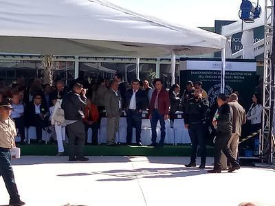 En el evento estuvo el gobernador electo, Miguel Riquelme.
