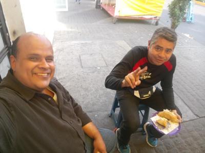 30112017 Alejandro González y Jorge de visita en la Ciudad de México.
