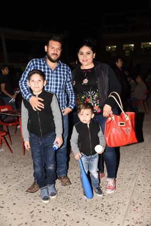 30112017 Cacho, Mayra, Cristiano y Ray.