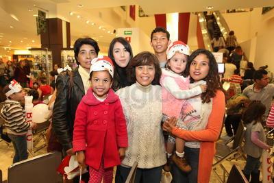 Familia Quezada Nuñez.