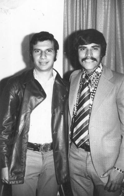 03122017 Eduardo Noriega y Roberto de Anda en diciembre de 1974