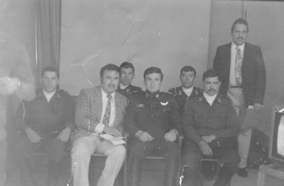 10122017 El Locutor de Lerdo, Baldo López Delgado, en entrevista en Canal 2 a elementos del Ejército Mexicano, hace algunas décadas.