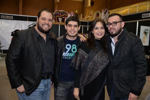 01122017 Carlos, Mario, Cristy y Juan.