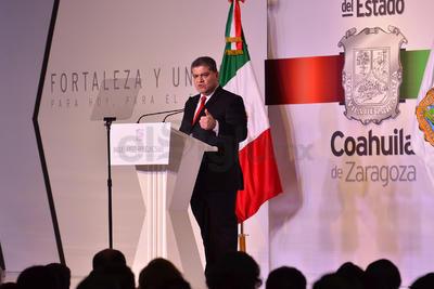 """Afirmó que lo que ahora necesita Coahuila es """"la reconciliación""""."""
