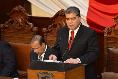 Señaló que es momento de trabajar por la unidad de Coahuila.