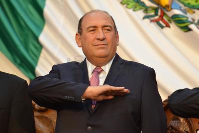 El ya exgobernador Rubén Moreira Valdez.