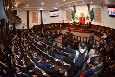 El evento se realizó en el Congreso del Estado.