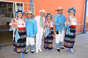 02122017 Ely, Amaury, Sergio, Vero, Víctor y Graciela.