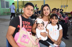 02122017 Ricardo Rivas, Eisela Camacho, Naima Daniela y Aline Sofía.