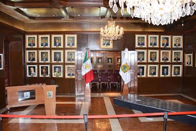 Desde el Salón Gobernadores del Palacio de Gobierno, en Saltillo, el exalcalde de Torreón detalló quiénes lo acompañarán en algunas secretarías.
