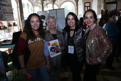 Ana Margarita Thompson, Erika Aldaz, María Antonieta Vela y María Antonieta Ramírez.