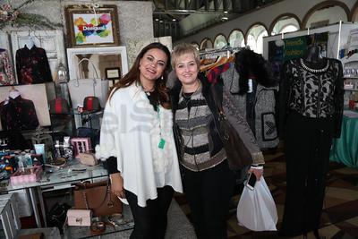 Erika Stenner y Judith Martínez.