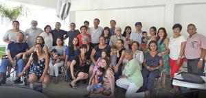 03122017 Guillermo Guzmán Cedillo cumplió 70 años. Lo celebró en compañía de las Familias Guzmán Cedillo, Guzmán Recio y Noyola Cedillo, en Parras de la Fuente, Coahuila.