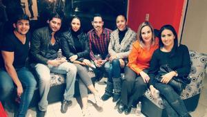 03122017 AMIGOS.  Francisco, Eduardo, Nydia, Sergio, Violeta, Marcela y Marcela.