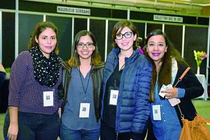 04122017 Daniela Valdés, Carmen Ruvalcaba, Vianey González y Nelda Zapata.
