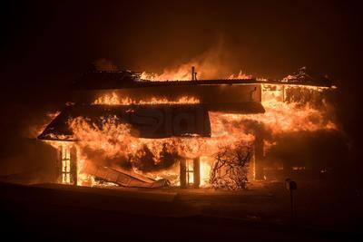 Las leguas de fuego no ocasionaron ninguna muerte o lesiones graves.