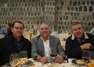 06122017 Padre Silverio Martínez, de Tampico; Padre Miguel Ángel Cigarroa, de Torreón, y Padre Jose Luis Compeán, de Tabasco.