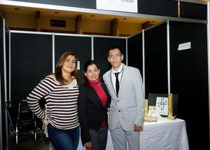 07122017 EN LAGALERíA.  Alejandra Barajas, Lili Nevárez y Pineda Damián.