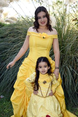 07122017 BELLA CUMPLEAñERA.  Aurora Aranda Máynez en su festejo por su cumpleaños número cuatro.
