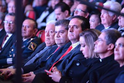 Entre los invitados se encuentra el gobernador de Coahuila, Miguel Ángel Riquelme Solís