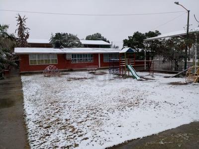 Desde las 3 de la mañana, empezó a nevar.