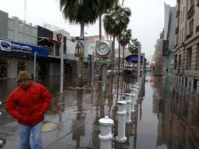 Nevada causa asombro y deleita a laguneros