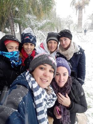 09122017 Isabella Alfani, Totoya, Lorena Hernández, Sofy Garza, Mónica Barba y Ana Pau Galindo.