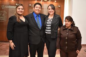 09122017 Estrella, José Alfredo, Miriam y Beatriz Adriana.