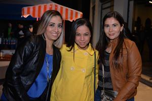 Karla, Adriana y Marcela