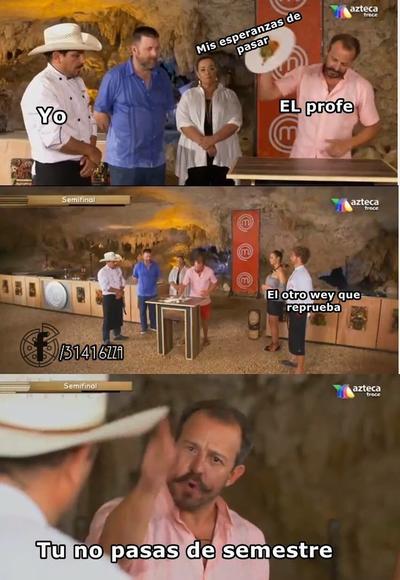 Regaño de juez Benito protagoniza los memes de MasterChef