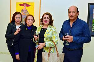 11122017 Betty, Beatriz, Martha y Raúl.