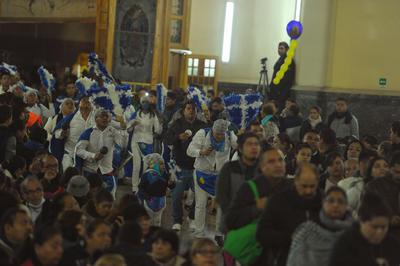 Laguneros acudieron a celebrar a la Virgen de Guadalupe.