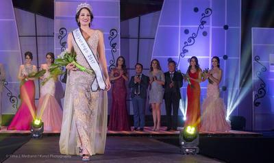 Idaly Ayala, originaria del municipio de Guanaceví, participará  en el certamen nacional.