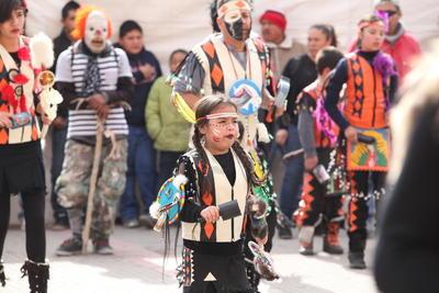 Los danzantes llegaron hasta el Santuario en esta fecha especial, para la que se prepararon durante todo el año.